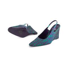 Fendi monogram wedge sandals 2?1551759193