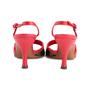 Authentic Second Hand Louis Vuitton Lizard Cherry  Slingback Sandals (PSS-618-00012) - Thumbnail 5
