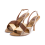 Authentic Second Hand René Caovilla Satin Slingback Sandals (PSS-618-00014) - Thumbnail 2