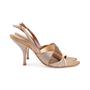 Authentic Second Hand René Caovilla Satin Slingback Sandals (PSS-618-00014) - Thumbnail 1