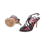 Authentic Pre Owned Louis Vuitton Patent Cut-Out Sandals (PSS-618-00015) - Thumbnail 1