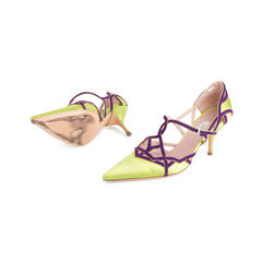 Prada satin suede trim pointed toe pumps 2?1551759414
