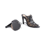 Authentic Second Hand Donna Karan Mesh Lace-up Cut-Out Heel (PSS-618-00019) - Thumbnail 5