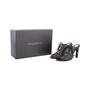 Authentic Second Hand Donna Karan Mesh Lace-up Cut-Out Heel (PSS-618-00019) - Thumbnail 6