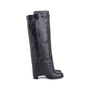 Authentic Second Hand Chanel Quilted Overlay Knee Boots (PSS-618-00020) - Thumbnail 2