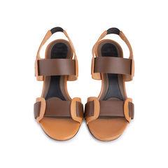 Mirrored Heel Sandals