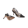 Authentic Second Hand Manolo Blahnik BB Lace Pointed Pumps (PSS-618-00011) - Thumbnail 2