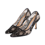 Authentic Second Hand Manolo Blahnik BB Lace Pointed Pumps (PSS-618-00011) - Thumbnail 3