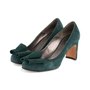 Authentic Second Hand Etro Bow Suede Pumps (PSS-618-00013) - Thumbnail 2