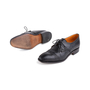 Authentic Second Hand Carmina Black Oxford Brogues (PSS-620-00001) - Thumbnail 1