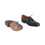 Authentic Second Hand Carmina Black Oxford Brogues (PSS-620-00001) - Thumbnail 2