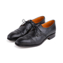 Authentic Second Hand Carmina Black Oxford Brogues (PSS-620-00001) - Thumbnail 3