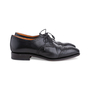 Authentic Second Hand Carmina Black Oxford Brogues (PSS-620-00001) - Thumbnail 4