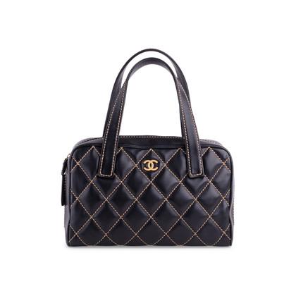 Authentic Second Hand Chanel Wild Stitch Shoulder Bag (PSS-038-00009)