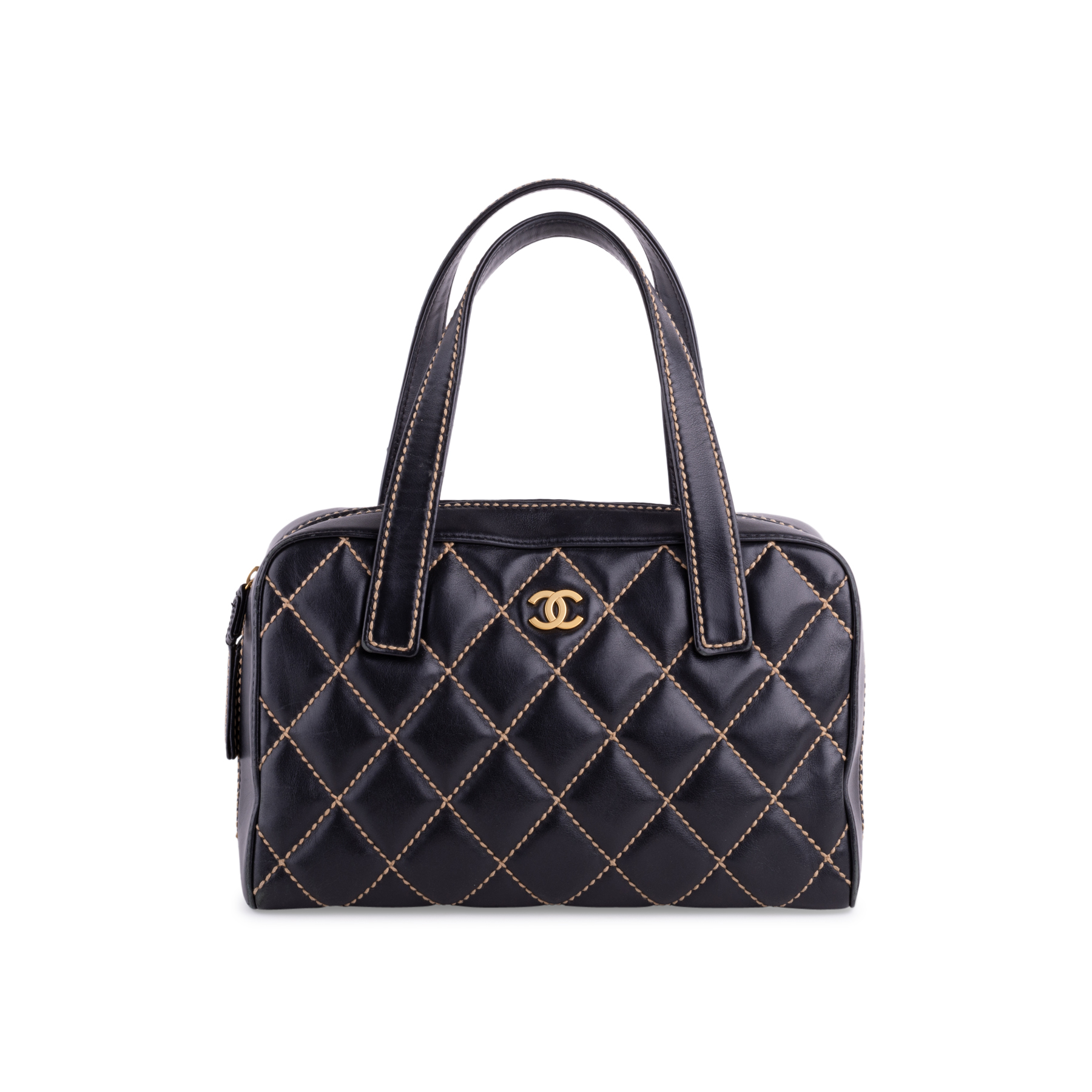 c88037585a63 Authentic Second Hand Chanel Wild Stitch Shoulder Bag (PSS-038-00009) | THE  FIFTH COLLECTION