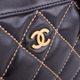 Authentic Second Hand Chanel Wild Stitch Shoulder Bag (PSS-038-00009) - Thumbnail 4