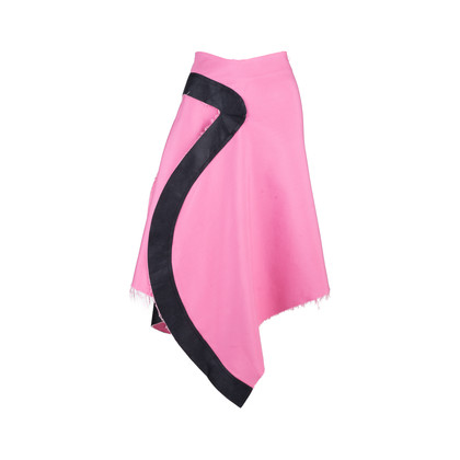 Authentic Pre Owned Comme Des Garçons Asymmetrical Skirt (PSS-618-00025)