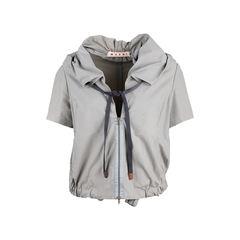 Ruched Neck Jacket