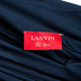 Authentic Second Hand Lanvin Draped Jersey Dress (PSS-618-00022) - Thumbnail 2
