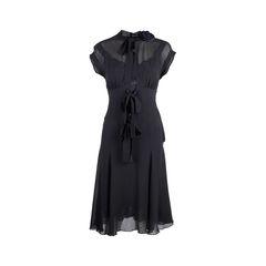 Two-Piece Sheer Dress