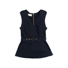 Sleeveless Belted Top