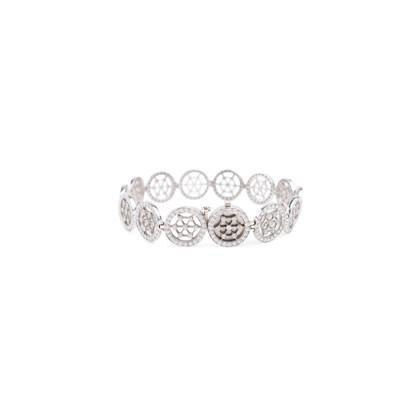 Authentic Second Hand Tiffany & Co Diamond Tennis Bracelet (PSS-622-00006)