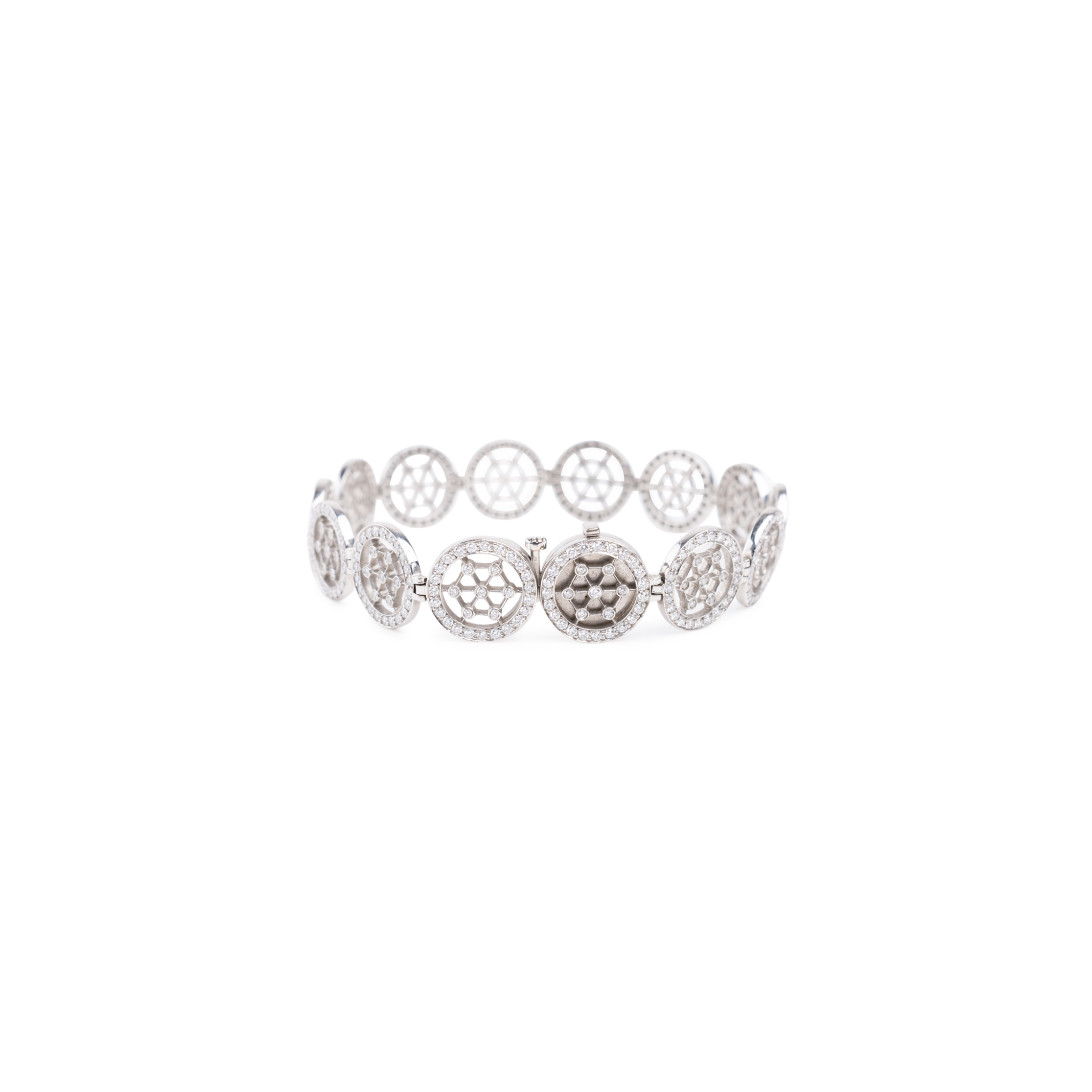 Authentic Second Hand Tiffany Co Diamond Tennis Bracelet Pss 622 00006 The Fifth Collection