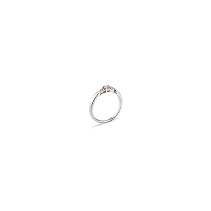 Authentic Second Hand Tiffany & Co Fancy Pink Diamond Side Stone Ring (PSS-622-00002)