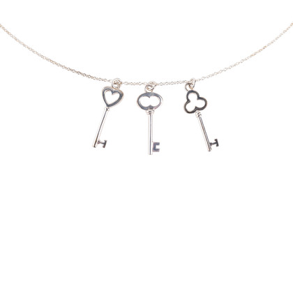 Authentic Second Hand Tiffany & Co Three Keys Pendant (PSS-622-00005)