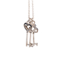 Authentic Second Hand Tiffany & Co Three Keys Pendant (PSS-622-00005) - Thumbnail 3