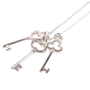 Authentic Second Hand Tiffany & Co Three Keys Pendant (PSS-622-00005) - Thumbnail 6
