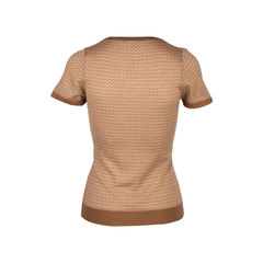 Fendi brown blouse 2?1551946677