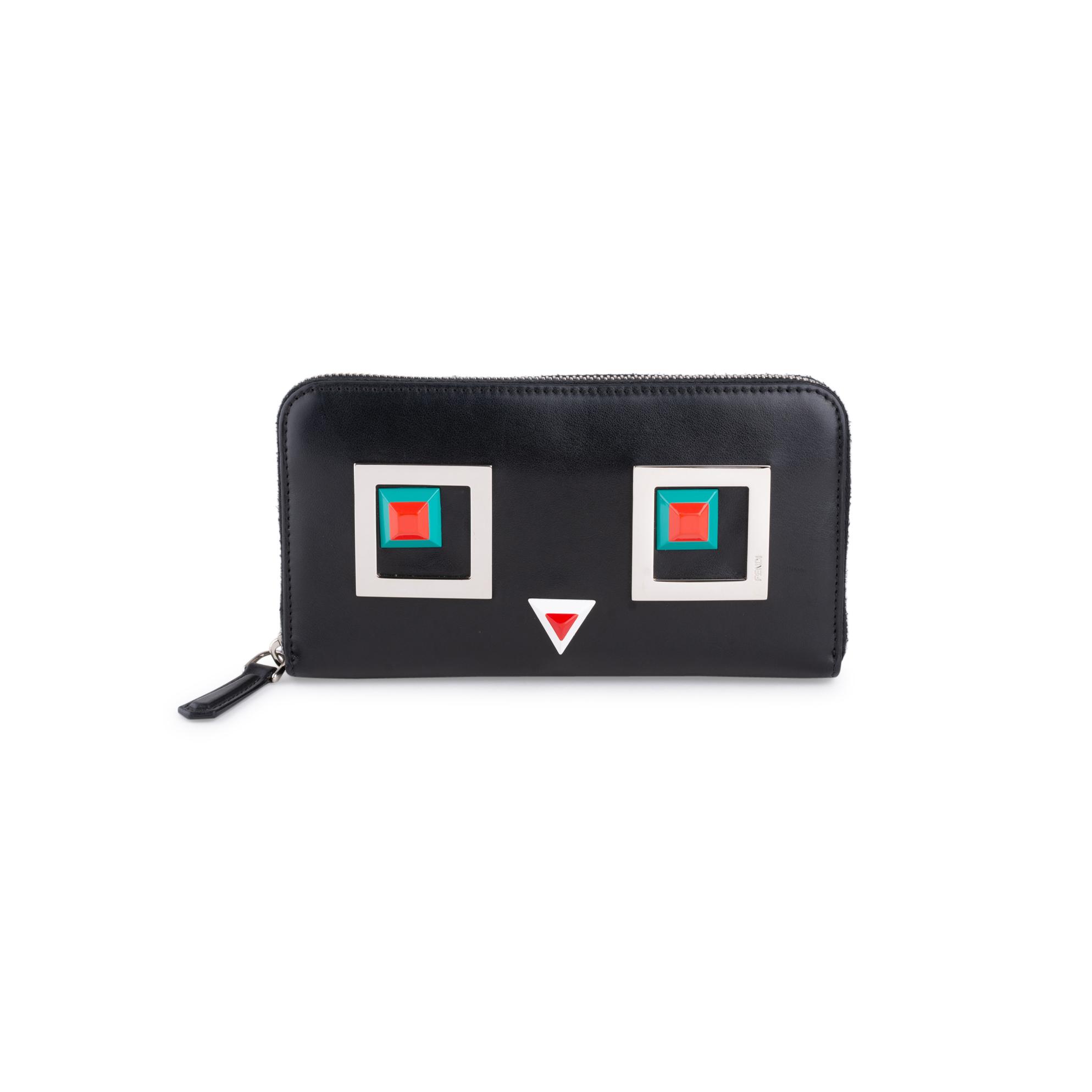 3e2b95ec Square Eyes Zip Around Wallet