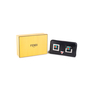 Authentic Pre Owned Fendi Square Eyes Zip Around Wallet (PSS-636-00008) - Thumbnail 5