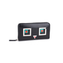Authentic Pre Owned Fendi Square Eyes Zip Around Wallet (PSS-636-00008) - Thumbnail 6