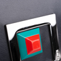 Authentic Pre Owned Fendi Square Eyes Zip Around Wallet (PSS-636-00008) - Thumbnail 9