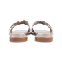 Authentic Second Hand Hermès Metallic Epsom Oran Sandals (PSS-126-00139) - Thumbnail 5