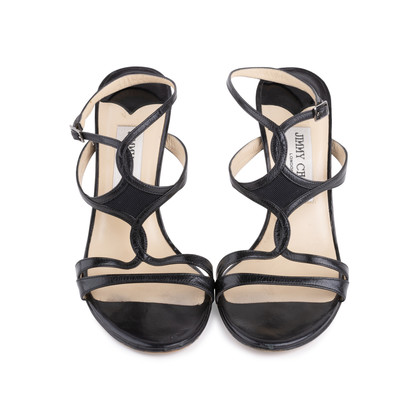 Authentic Pre Owned Jimmy Choo Criss Cross Sandals (PSS-126-00142)