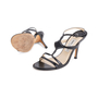 Authentic Pre Owned Jimmy Choo Criss Cross Sandals (PSS-126-00142) - Thumbnail 1