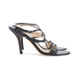 Authentic Pre Owned Jimmy Choo Criss Cross Sandals (PSS-126-00142) - Thumbnail 4