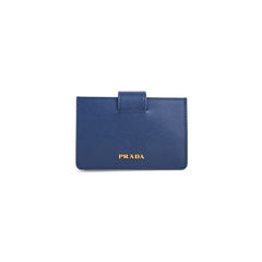 Saffiano Accordion Card Case