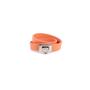 Authentic Pre Owned Salvatore Ferragamo Gancini Lock Wrap Bracelet (PSS-630-00009) - Thumbnail 0