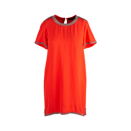Authentic Second Hand Isabel Marant Vallonia Embroidered Dress (PSS-126-00143)