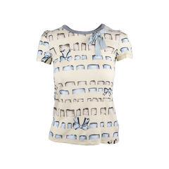 Bow Print T-Shirt
