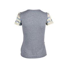 Red valentino bow print t shirt 2?1552280372