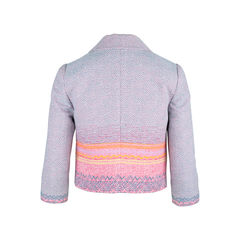 Moiselle ombre woven cropped jacket 2?1552280484