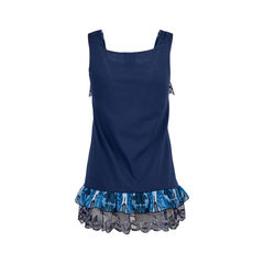 Anna sui snake embroidered peplum top 2?1552280770