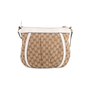 Authentic Second Hand Gucci Canvas D-Ring Crossbody Bag (PSS-632-00002) - Thumbnail 2