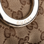 Authentic Second Hand Gucci Canvas D-Ring Crossbody Bag (PSS-632-00002) - Thumbnail 4