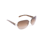 Authentic Second Hand Prada Half-Rimmed Sunglasses (PSS-624-00003) - Thumbnail 1